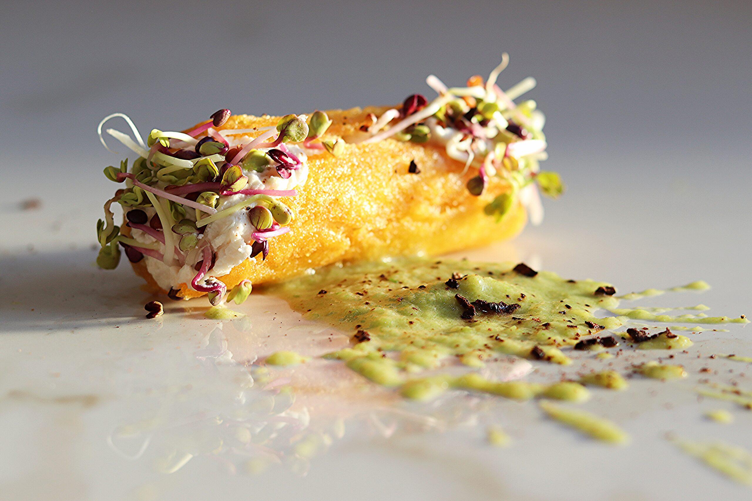 Menù di San Valentino - Cannolo di polenta