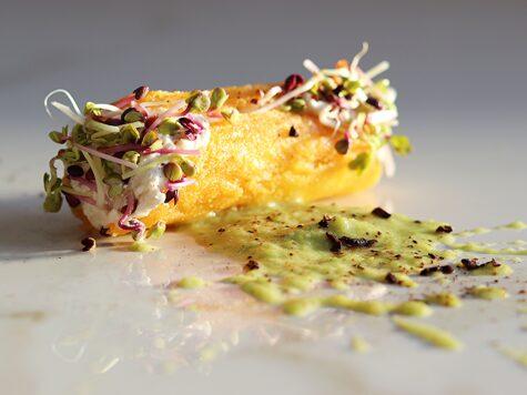cannolo di polenta